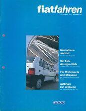 Guida FIAT 3/89 1989 501 Panda Ducato Panorama ONU CROMA auto PKW 1989 Italia