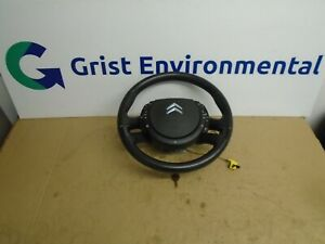 2006-2013 CITROEN C4 GRAND PICASSO MULTIFUNCTION STEERING WHEEL AND AIRBAG  (5E)