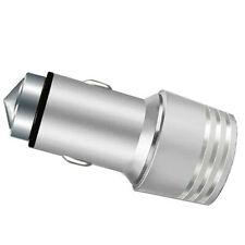 Adattatore Caricabatteria Auto Presa Accendisigari 2 Porte Usb 3.1A Silver hsb
