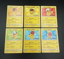 lot 6 cartes Neuves - Pokémon - Promo Film Pikachu - Je te choisis !