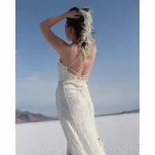 Free People Casablanca Lace Long Wedding Dress with train only worn for 3 hrs