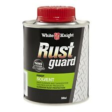 White Knight Rust Guard 500ml Solvent