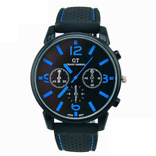 Hot Sale Men Fashion Stainless Steel Sport Cool Quartz Hours Wrist Analog Watch