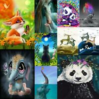 5D Full Square Drill Diamond Painting DIY Animal Cross Stitch Mosaic Wall Art