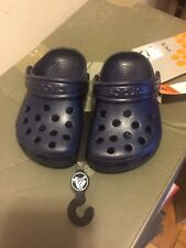 Crocs Kids Classic NavyC4/C5 NWT