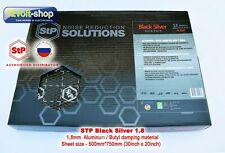 1 sheet STP Silver 1.8mm Vibro Insulation Material (750x500mm (30inch x 20inch))