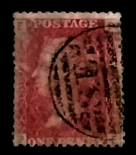 GB QV Penny Red  1858-79 1d  Letters PE   PR238  Free Registered Mail