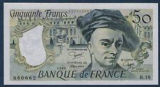 FRANCE - 50 FRANCS QUENTIN DE LA TOUR Fayette n° 67.6 de 1980 en SPL H.18 860662