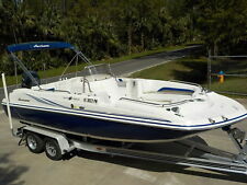 CLEAN- 2012 HURRICANE SD211 CC FUN DECK SPORT BOAT YAMAHA 4-STROKE 262 HOURS BAY