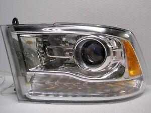Tabs Good!! 2013-2020 Dodge Ram Projector Headlight Driver Side w/ bulbs DRL OEM