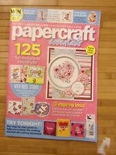 PAPERCRAFT ESSENTIALS ISSUE 157  2018 UK MAGAZINE  NEW