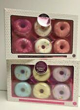 Bath Fizzers Romantic Bubble Bath Bomb Bakery Donut Tray Pack Of 6 Gift Set