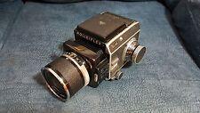 Rollei SL66 film camera With Planar 50mm f/4 lens.