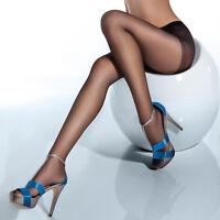 Women Sheer Pantyhose Godet Crotch Stockings Slim Tights High Socks Sexy Hosiery