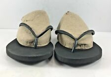 Havaianas Black Flip Flops Beach Sandals Womens Size EUR 39M