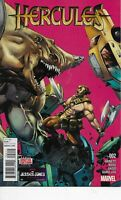 HERCULES #2 MARVEL COMICS 2016 BAGGED AND BOARDED