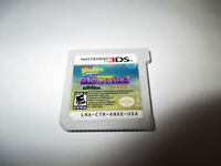 SpongeBob SquarePants: Plankton's Robotic Revenge (Nintendo 3DS) XL 2DS Game
