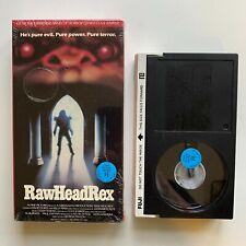 RARE BETA Clive Barker RAW HEAD REX Video Tape Not VHS BETAMAX 1986 Vestron