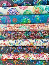 BRILLIANCE by Dan Morris for  QT fabrics - 100& cotton fabric