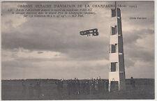 CARTE POSTALE  AVIATION  VOL DE PAULHAN RECORD DU MONDE SUR WRIGHT DISTANCE 1909