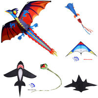 Outdoor Fun Fighter Kite Novelty Creative Kites Children Kids Outdoor Toys