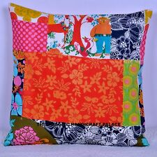 "16"" Indian Bohemian Patchwork Look Multi Cushion Cover Throw Pillow Cover Art"