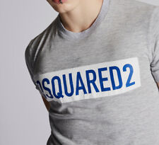 Dsquared2 Mens Box T-Shirt Cotton Blend Round Neck Short Sleeves Casual Tee Top