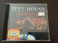 """Full House Live Performances"" John Farnham (CD, 1991) Age Of Reason, Help *GC*"