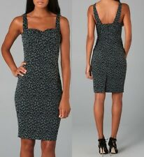 Zac Posen Animal Print Dress Size 10  (fits Like 8) 1790.00 Retail