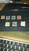 Lote de 7 sellos usados de la serie sociedad de las naciones escasos ver imagen
