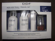 DDF Age-Less Trial / Travel Set 4-Piece Collection Cleanse Treat Moisturize NEW
