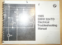 1985 BMW 524TD Electrical Troubleshooting Manual ETM Wiring Manual