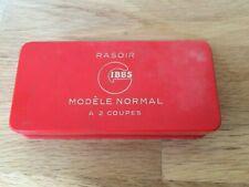 ancien rasoir Gibbs modèle normal à 2 coupes