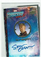 Guardians of the Galaxy Vol 2 Marvel Autograph Card MT12 Sean Gunn as Kraglin
