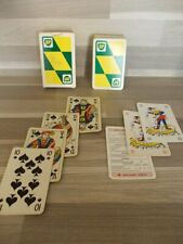 Oude boek speelkaarten - BP British Petroleum - compleet met jokers met beschrev