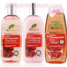 Dr Organic Pomegranate Shampoo and Conditioner Combo 2x 265ml