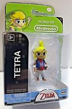 "World of Nintendo LEGEND of ZELDA Wind Waker TETRA 2.5"" Action Figure BRAND NEW"