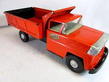 Vintage 1960's Marx Sears Allstate orange dump truck