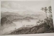NAPOLEON BATAILLE MONTENOTTE 1796  ITALIE GRAVURE 1838 VERSAILLES R1328