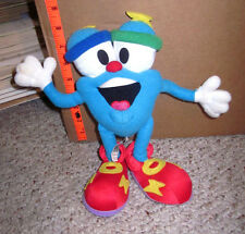 1996 SUMMER OLYMPICS plush doll IZZY character WHATIZIT weird stuffed morph