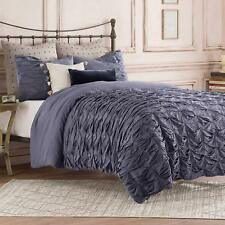 Anthology Kendall Twin Duvet Cover in Indigo