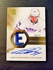 2016-17 The Cup Auston Matthews RPA Letter Patch Auto Gold Rookie /12 BGS 10 ?
