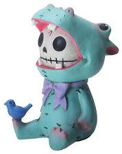 NEW Furrybones Furry Bones Hippolito Hippo Blue Bird Skeleton Figurine Gift 8491