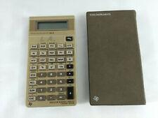 Calculatrice Vintage Texas Instruments  BA II  Envoi rapide et suivi