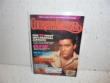 Country America Magazine March 1994  Elvis Presley on Cover