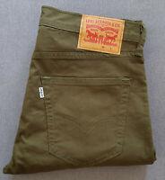 Herren Jeans LEVIS LEVI´S 512 Slim Taper Fit Foxtrot Green W32 L30