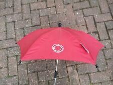 Bugaboo Cochecito Cochecito Rojo Parasol Sol Paraguas