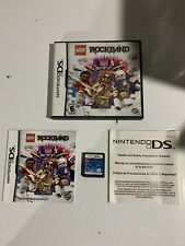 LEGO Rock Band (Nintendo DS, 2009) Complete Tested