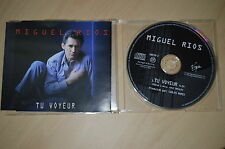 Miguel Rios - Tu voyeur. CD-Single promo (CP1708)