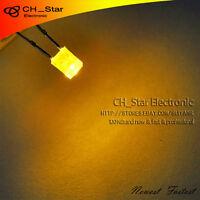 1000pcs 2x3x4mm 2x3mm Water Clear Yellow Light Rectangle Rectangular LED